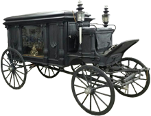 Historic Lafferty Funeral Carriage